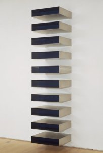 Donald Judd, 1973 Stainless Steel Sculpture