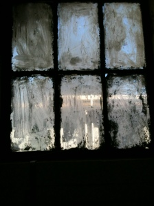 This is a window where I work